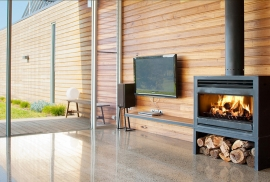 Ashburton Wood Fire place
