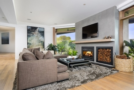 Balwyn Open Wood Fireplace