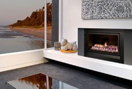 Enviro High Efficient Gas Fireplace
