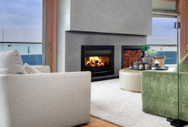 Glen Iris Wood Fireplace