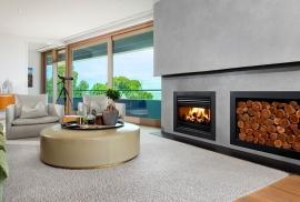 Award-Winning Open Wood Fireplaces