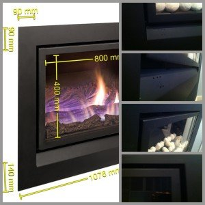 Enviro gas fireplace architectural drawings