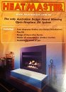 Heatmaster wood and gas fireplace brochure 2002