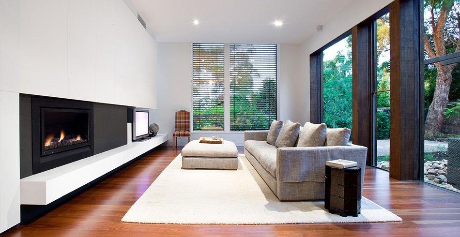 Architectural design enviro fireplace Blackburn