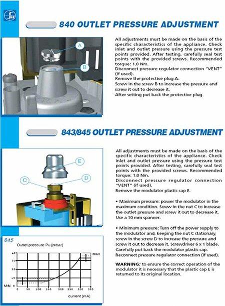 enviro gas fireplace gas adjustment