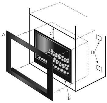 easy install modern enviro gas fireplace air vent image