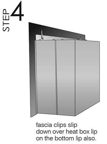 easy install modern enviro gas fireplace fascia